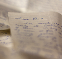 Handwritten Letters | Chris Allsop Photography